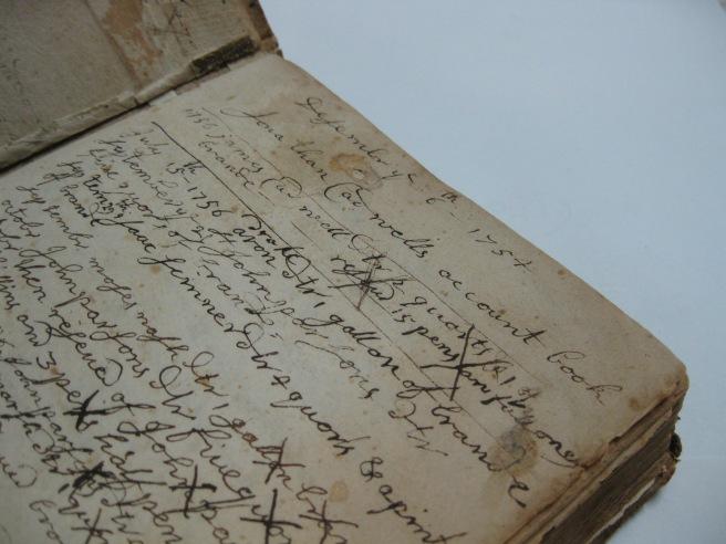 Desember ye 6th, 1754