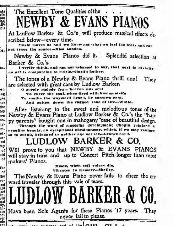ludlow barker